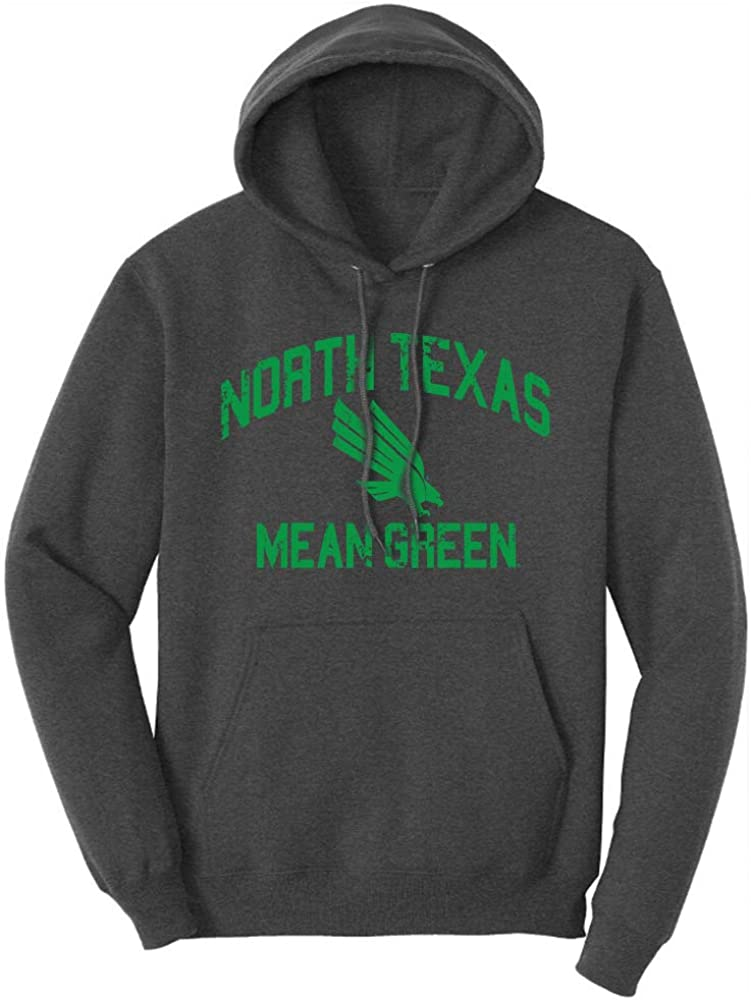 Sport Your Gear NCAA Retro Distressed Vintage Adult Unisex Lightweight Pullover Hoodie