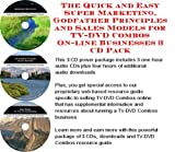 img - for The Quick and Easy Super Marketing, Godfather Principles and Sales Models for TV-DVD Combos On-line Businesses 3 CD Pack book / textbook / text book