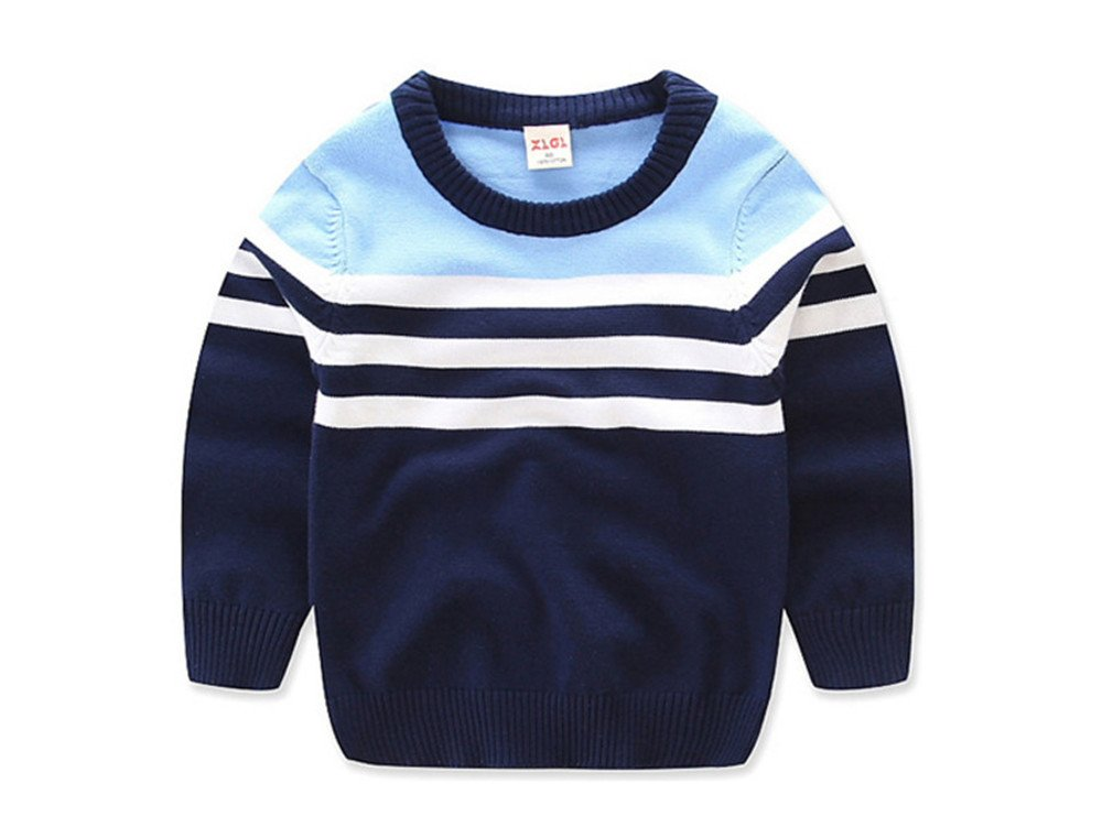 Winyersnow Boys Cardigan Striped Boy Sweater Baby Pullover Knit Sweaters Jacket Outerwear 4 2T