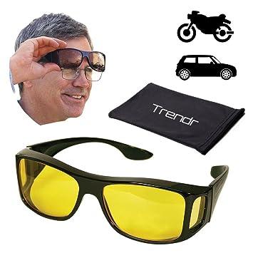 Lunettes ou Clip lunettes de conduite de nuit Eagle Eyes®, Clip lunettes