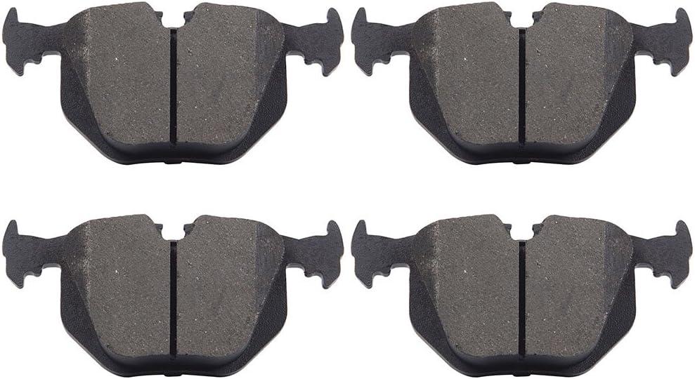 ECCPP Ceramic Brake Pads 4pcs Rear Kits for BMW 330Ci 330i 330xi 740i 740iL M3 M5 X3 X5 Z4 Z8, 2003-2005 for Land Rover Range Rover