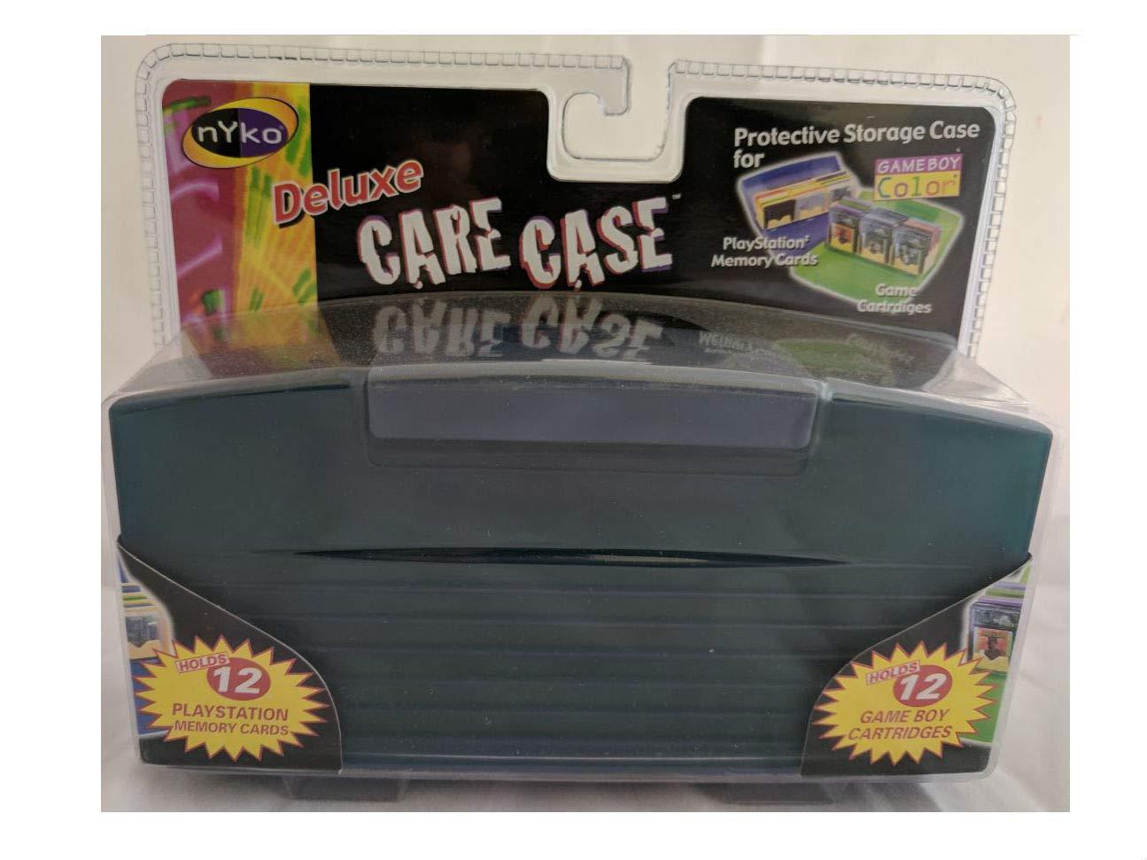 Nyko Deluxe Original Gameboy (Original, Pocket, Color) Game Cartridge Care Case (12 Games) - Dark Blue/Black