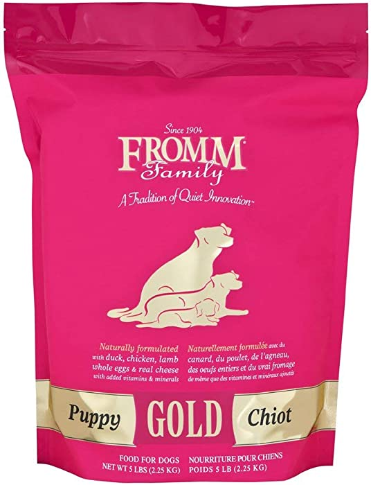 Fromm Puppy Gold Dry Dog Food, 5-Pound Bag