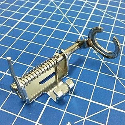 Tinksky Máquina de coser doméstica Open Toe Metal acolchado bordado prensatelas para el hermano Singer Janome Toyota: Amazon.es: Hogar
