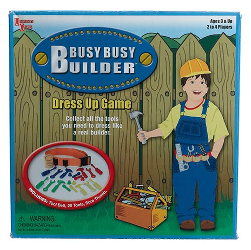 Busy Builder Dress Up Game - 1