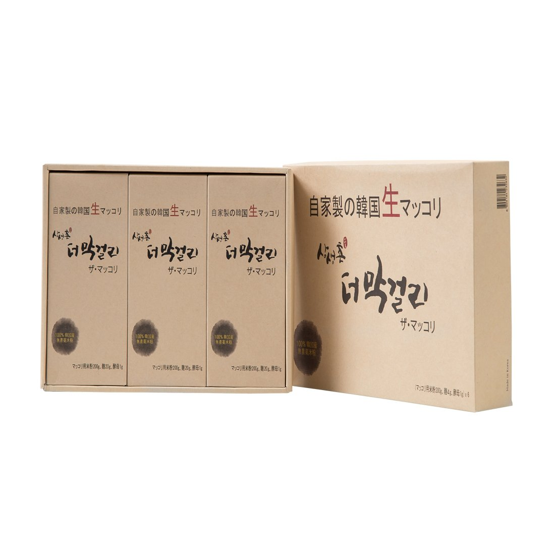 The Makgeolli Gift Set 7 1oz X 6 Packs Korean Traditional