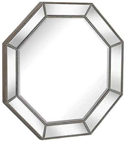 Amazon Com Hamilton Hills Large Framed Octagon Wall Mirror With