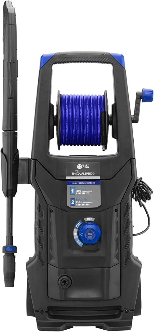 Ar Blue Clean E 2 Dualspeed D Hochdruckreiniger Mit Dual Speed System Rohrreinigersonde Und Patio Cleaner 2200 W 160 Bar 460 L H Baumarkt
