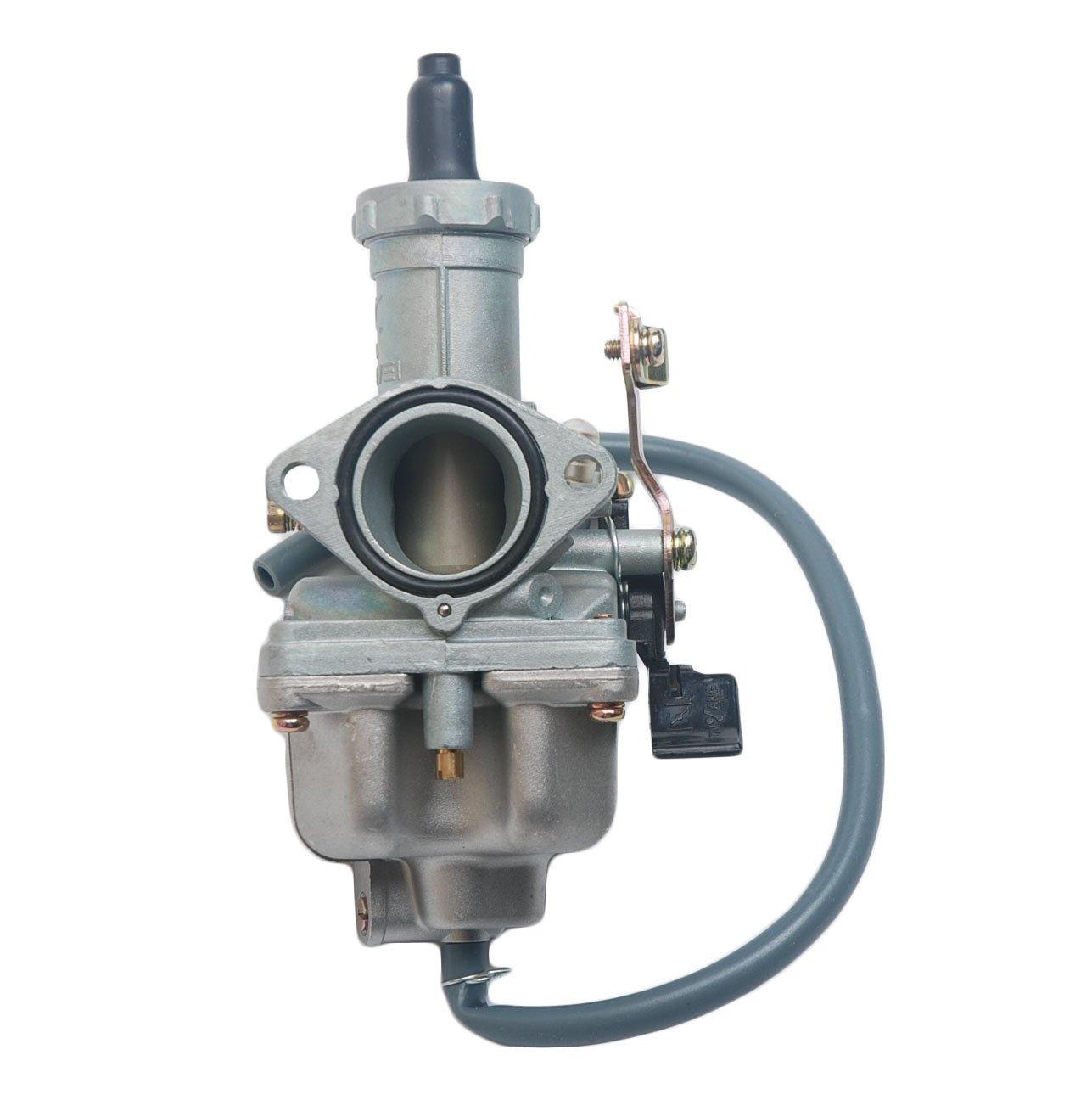 Carburador Beehive Filter PZ27 de estrangulador con cable de 27 mm para motor de 4 tiempos de 125 cc, 150 cc, 200 cc, 250 cc y 300 cc, para cuadriciclo, Go Kart, moto de cross y sunl 150cc 200cc 250cc y 300cc