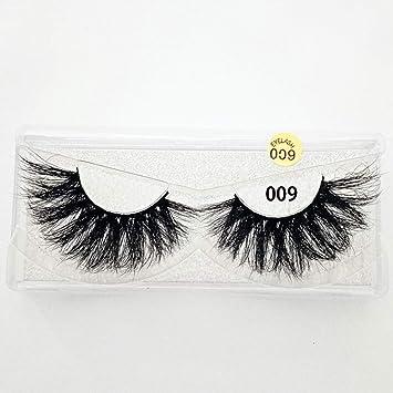 7307dd87306 25mm Lashes 3D Mink Hair False Eyelashes Multilayers Dramatic Wispy Fluffy  Eyelashes Extension Handmade Reusable Eye
