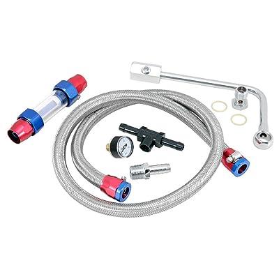 Spectre Performance 2985 Edelbrock Fuel Line kit: Automotive
