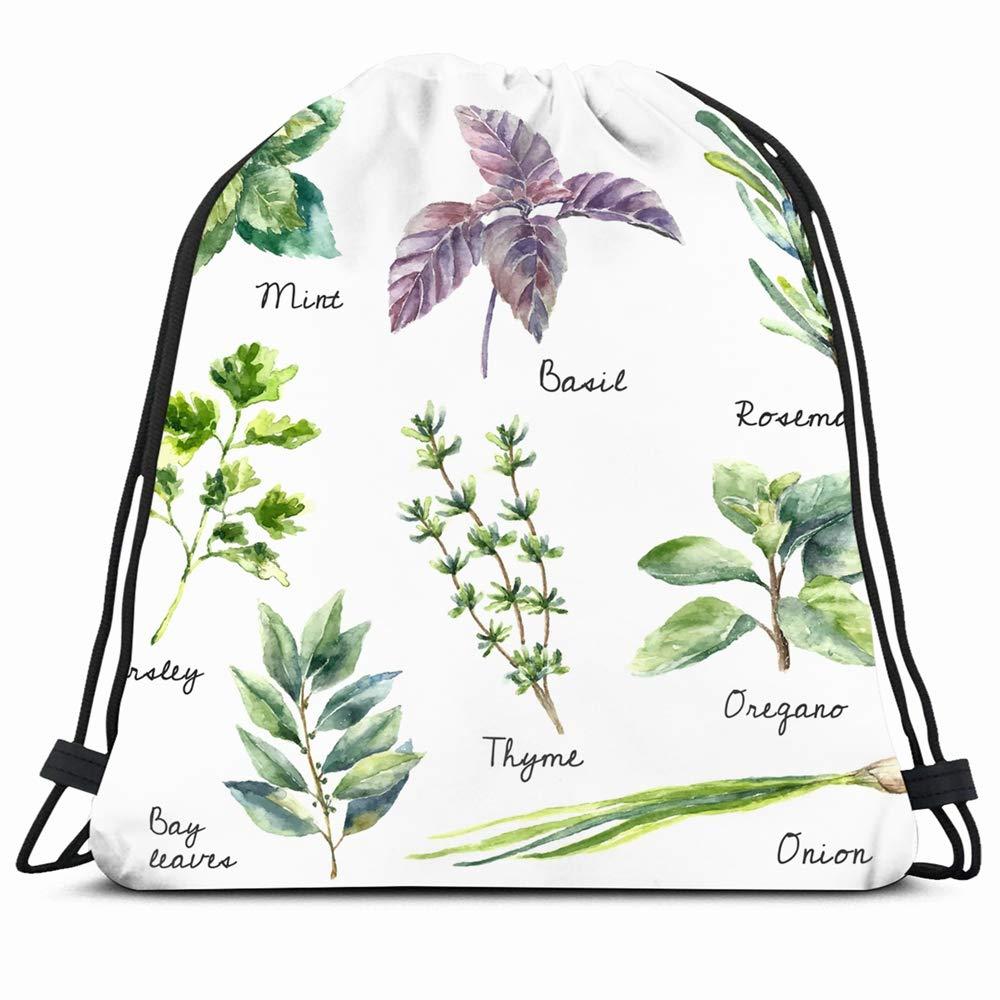 Amazon.com | Ahawoso Drawstring Backpack String Bag 14X16 ...