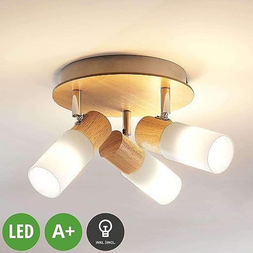 LED Proyector, foco Christoph (Tradicional) en Marrón hecho de ...