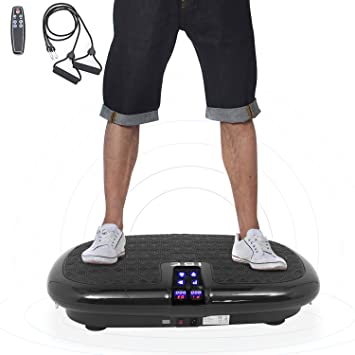 ISE - Plataforma vibratoria para Fitness 6 programas con Correas ...