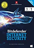 BitDefender Internet Security Latest Version (Windows) - 1 User, 1 Year (Activation Key Card)