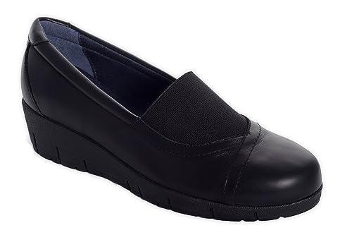 0ff334b7fddc6 Oneflex Marie Negro - Zapatos anatómicos Profesionales cómodos para Mujer   Amazon.es  Zapatos y complementos