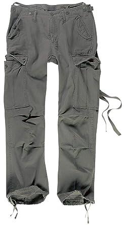7cc166ddf1d0 Brandit B-11001 M65 Ladies Trouser Pantalon cargo femme - - Vert olive - 36