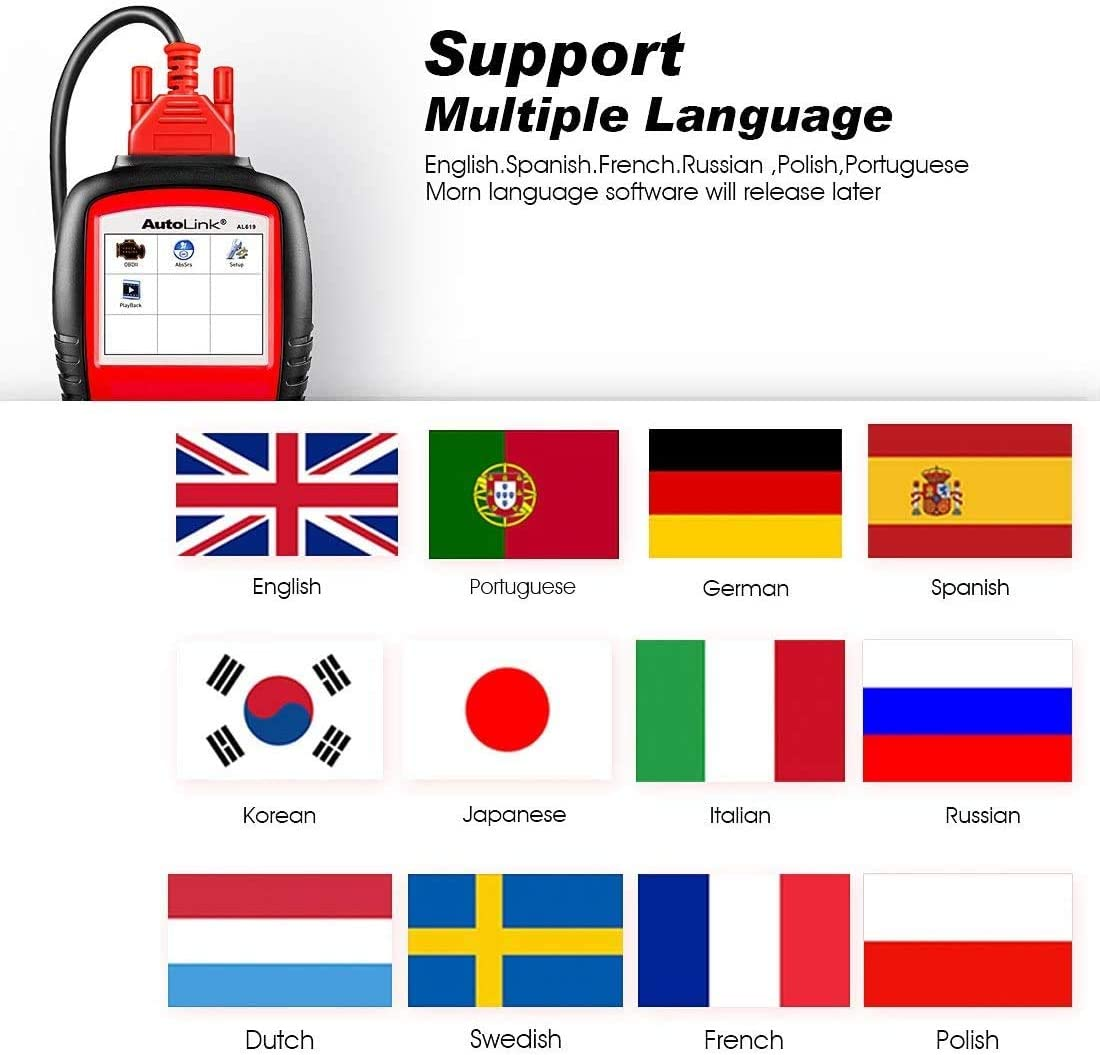 Languages Supported: English, French, German, Spanish