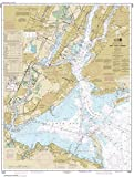 NOAA Chart 12327: New York Harbor, 34.9 X 46.3, TRADITIONAL PAPER
