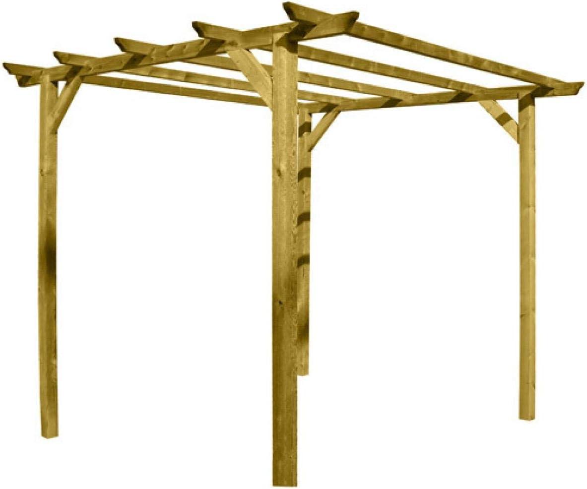 Papillon 8044805 Pergola Madera 3x3 Metros 4 Postes: Amazon.es: Jardín