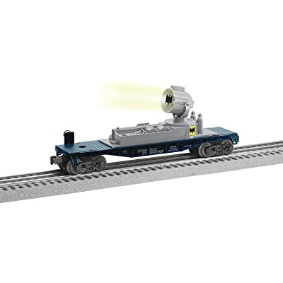 Lionel Batman, Electric O Gauge Model Train Cars, Bat Symbol Searchlight Car: Toys & Games