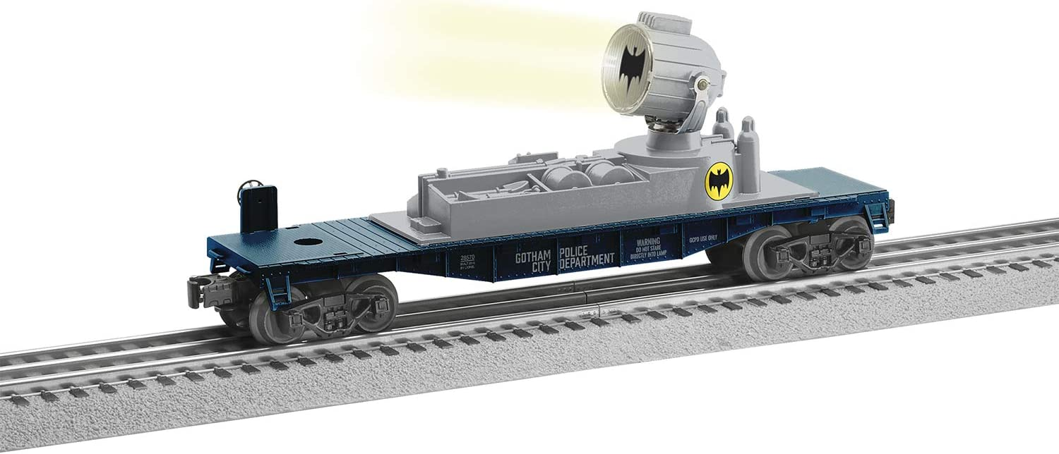 What Is The Make And Model Of A Car >> Amazon Com Lionel Batman Electric O Gauge Model Train Cars
