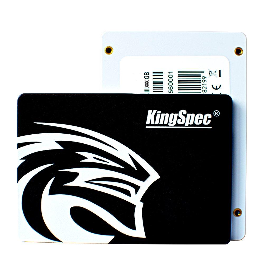 KingSpec 360GB SSD 2.5 Inch Hard Drive SATA3 Internal Solid State Drive Q-360 by KingSpec