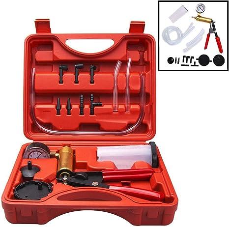 Bremse Entlüfter Kit Vakuumpumpe Tester Kit 2 in 1 Kfz Werkzeuge mit