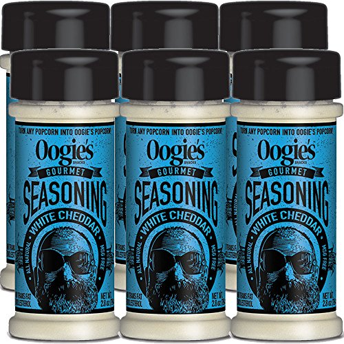Oogie's White Cheddar Popcorn Seasoning (Rice Cakes White Cheddar)