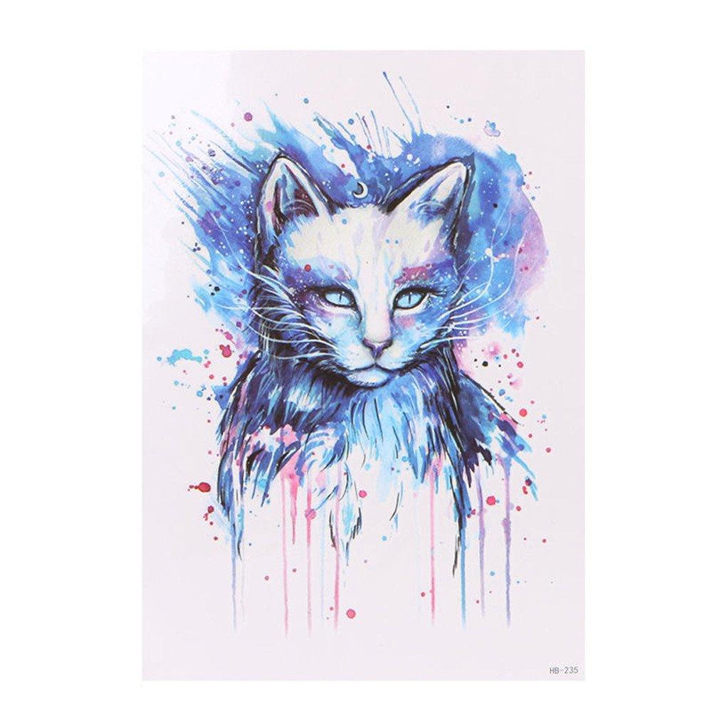 Kashyk - Tatuajes para el cuerpo con estampado de lobo temporal ...