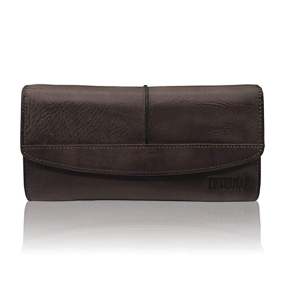 Wallets Leather Dip Dye...