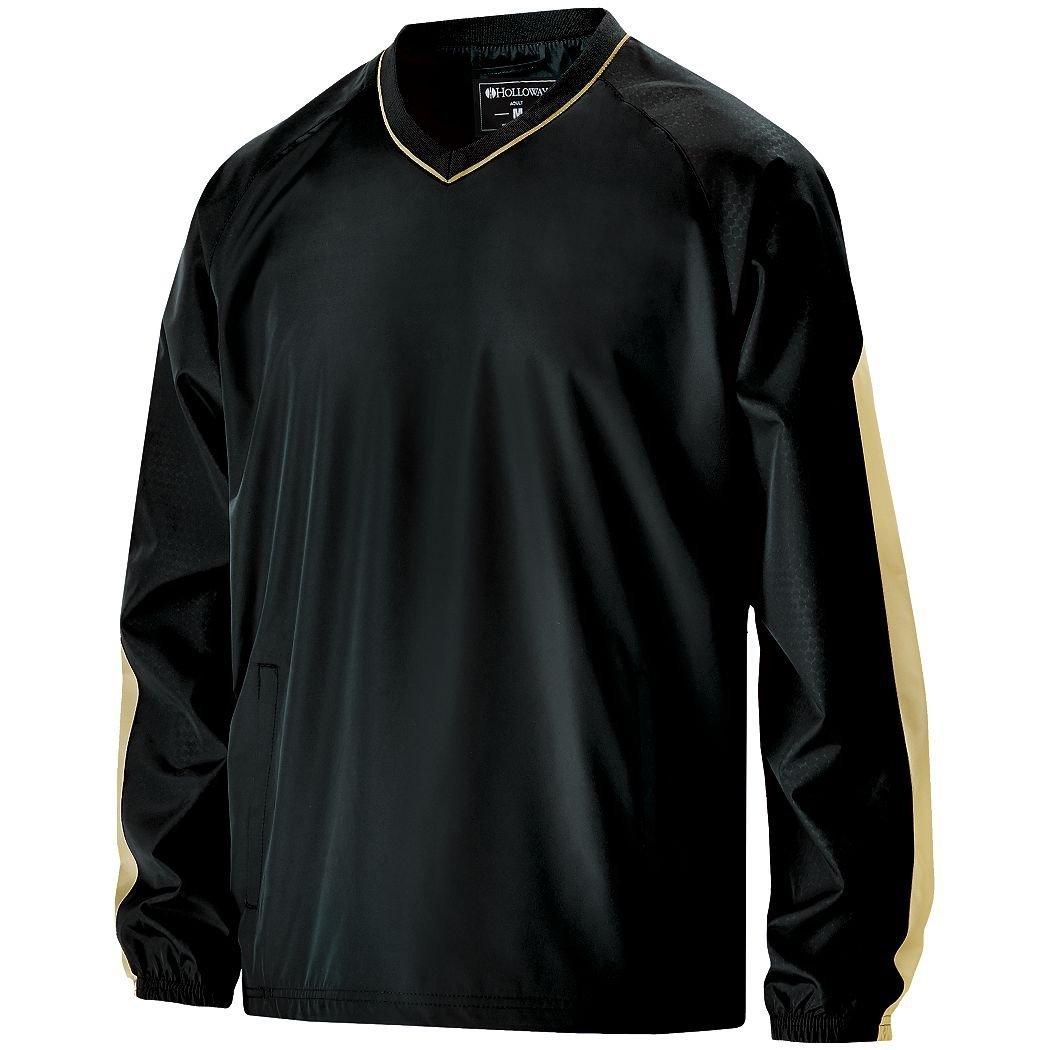 Men 's Bionic Windshirt Hollowayスポーツウェア B012KBHEUA 3L|Black/ Vegas Gld Black/ Vegas Gld 3L