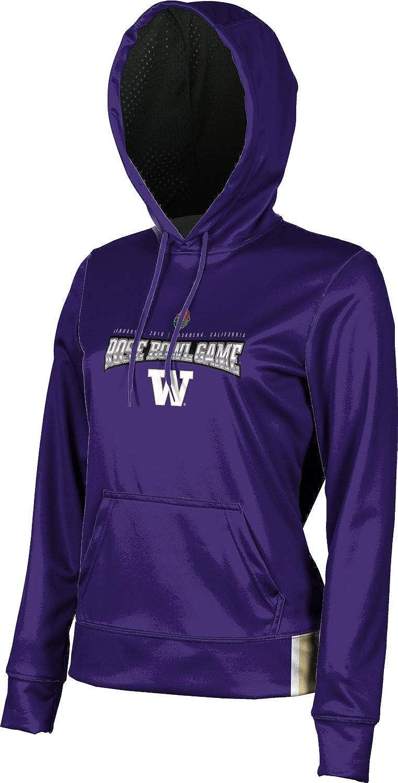 School Spirit Sweatshirt ProSphere University of Washington Girls Pullover Hoodie Solid