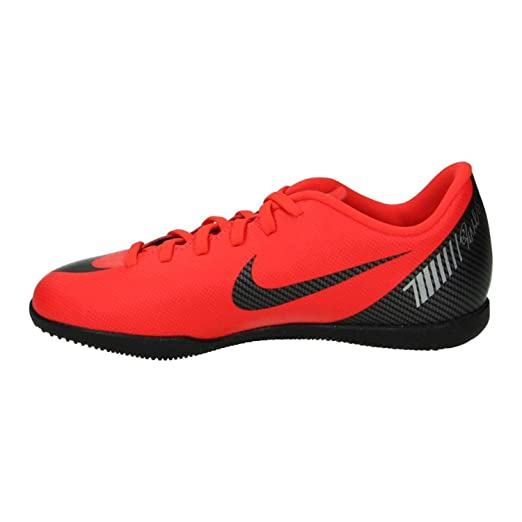 Bota Indoor NIKE CR7 JR Vapor X 12 Club IC Rojas: Amazon.es: Zapatos y complementos