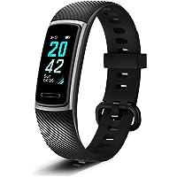SHENTIGER BAND 5 Akıllı Saat Bileklik - E nabız Bluetooth 4.2 14 Spor Modu Erkek ve Bayan için Unisex Dijital Bluetooth…