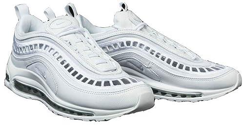 Air MAX 97 Ultra 17 SI White Grey AO2326-100 Zapatillas de Running para Hombre Mujer: Amazon.es: Zapatos y complementos