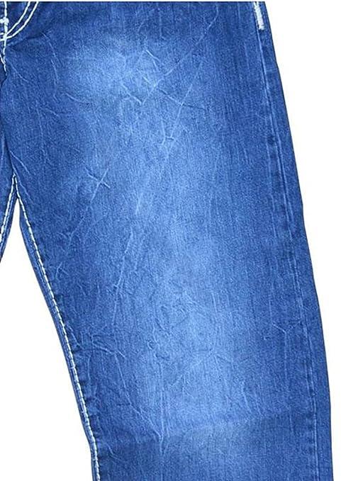 Übergrössen !!! NEU !!! Designer Jeans LAVECCHIA 5750 kräftige weiße  Ziernähte: Amazon.de: Bekleidung