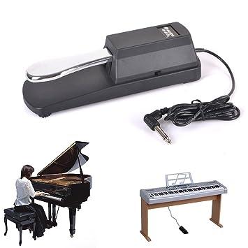 Pedal de resonancia para Yamaha, Casio, Roland, Korg, M-Audio, Gear4Music teclados y piano digital: Amazon.es: Oficina y papelería