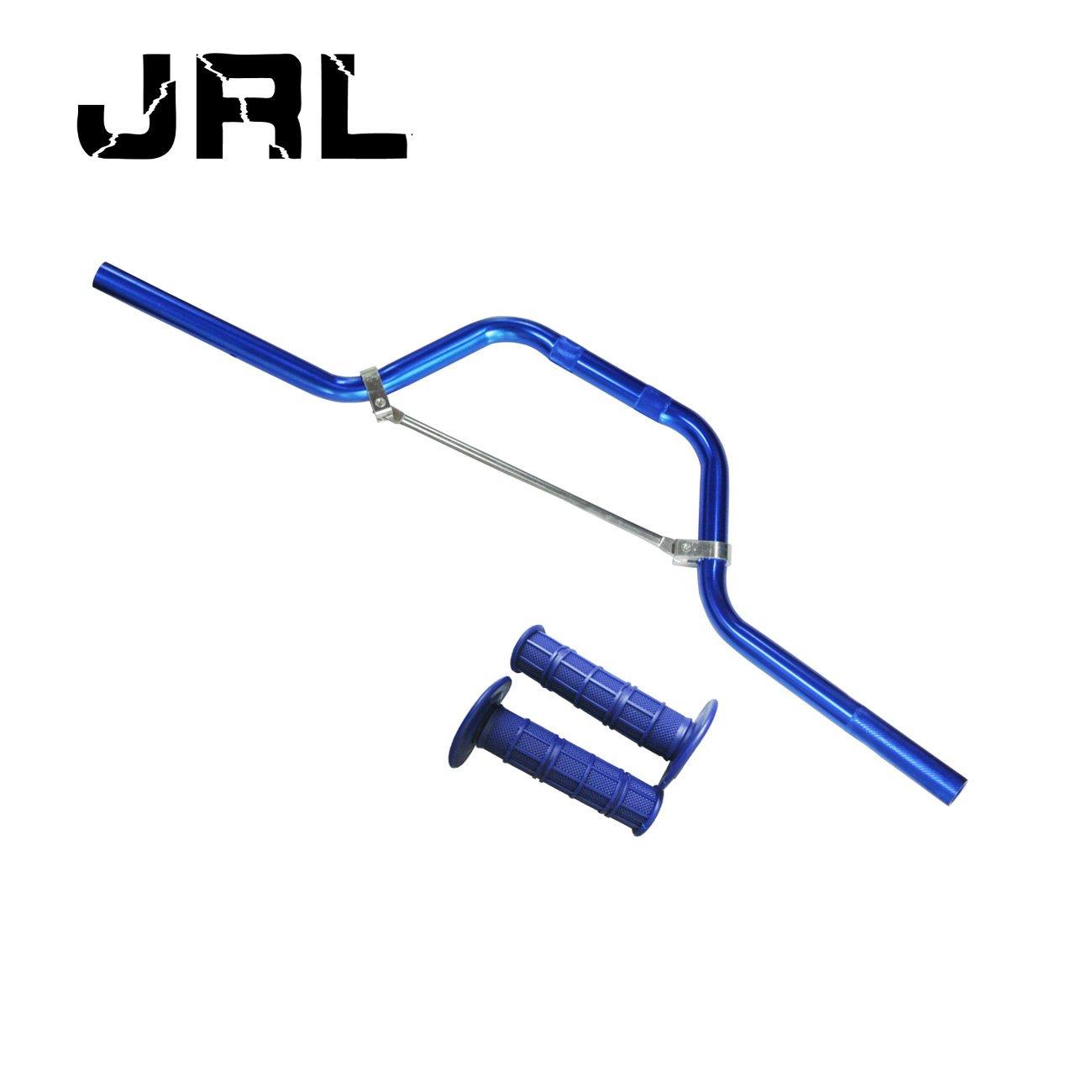 JRL para trail y motocross Manillar de moto con aspecto de titanio y efecto reforzado
