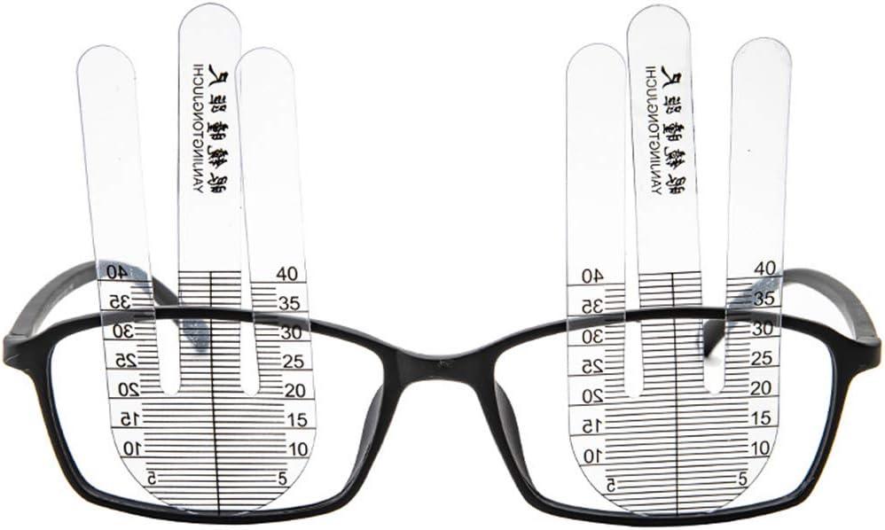 planuuik 1Pair PH Ottico Righello Allievo Misuratore di Altezza Optometria Tester PH per Strumento ospedaliero