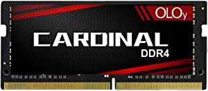OLOy DDR4 RAM 8GB (1x8GB) 3200 MHz CL22 1.2V 260-Pin Laptop Gaming SODIMM for Intel (MD4S0832220IZ0SC)