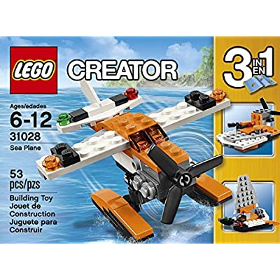 LEGO Creator Sea Plane: Toys & Games
