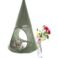 ALXDR Hamaca para Gatos Colgante Tipo Cama para Gatitos Ropa de Cama para Mascotas Desmontable Sling Desván Multiuso Multi-usoage para la Vida de Verano