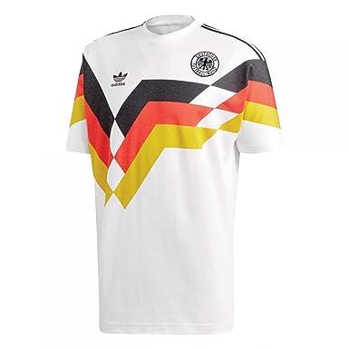 Adidas Herren Trikot DFB Germany Jersey 1990 White XS