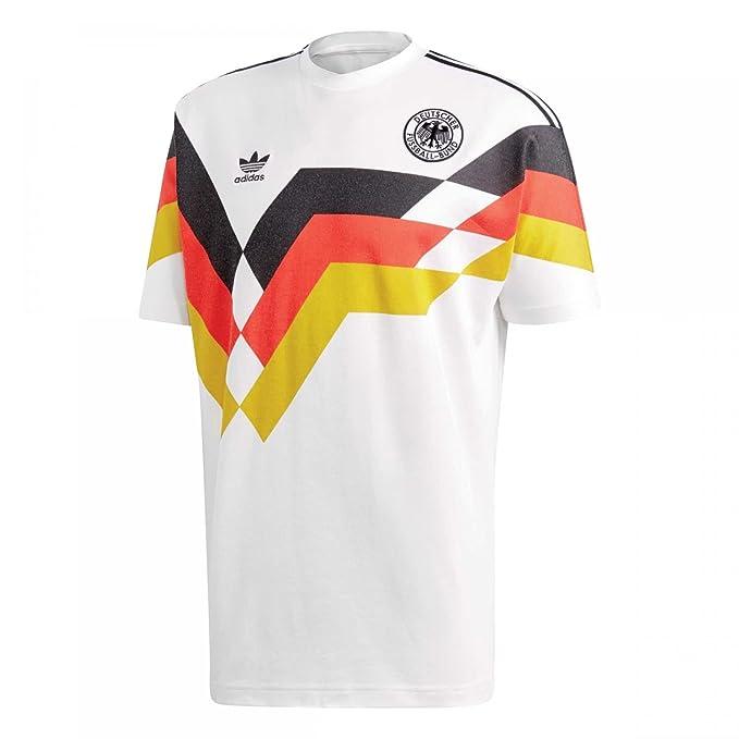adidas Camiseta Germany JSY Blanco/Negro/Rojo Talla: XS (X-Small
