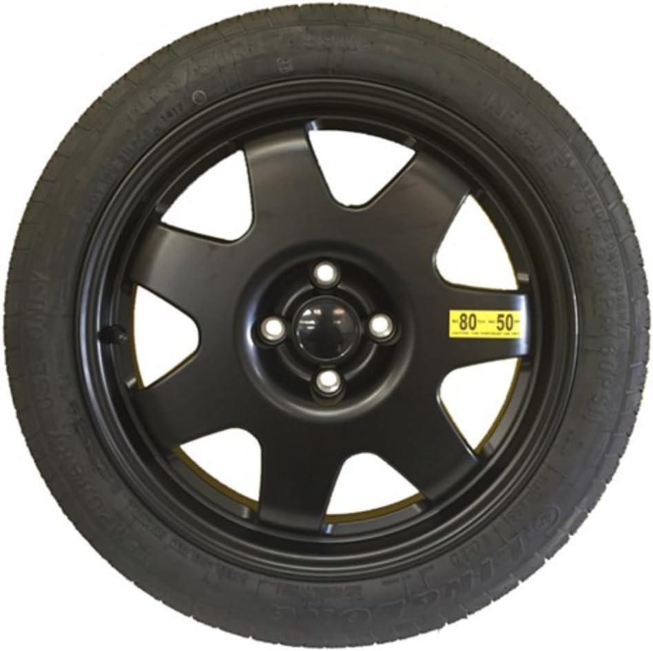Vauxhall Crossland X 06//2017 Onwards Alloy Space Saver Wheel /& Tyre