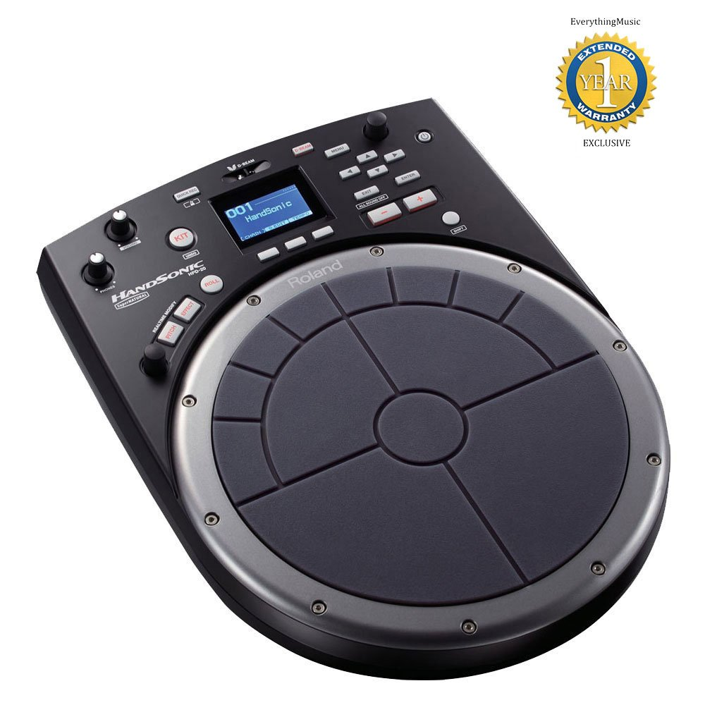 Roland HandSonic HPD-20 Digital Hand Percussion Controller with 1 Year Free Extended Warranty by Roland