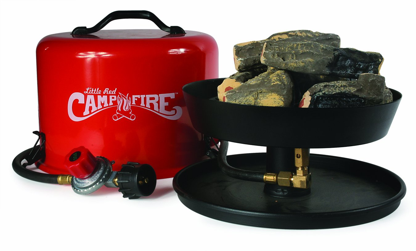 amazon com camco u201clittle red campfire u201d 11 25 inch portable