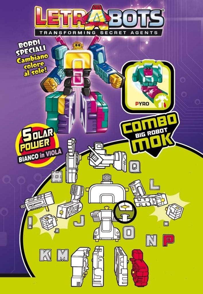 Sbabam - LetraBots 38645. Combo Big Robot MOK. Modelo Aleatorio.: Amazon.es: Juguetes y juegos