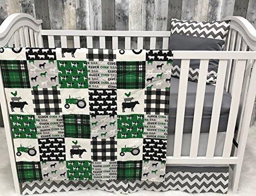 Baby Nursery Bedding , Baby , Farm LIfe , Cow , Chickens , Cowboy, Farmer , Tractor, Baby Bedding , Crib Bedding , Babylooms